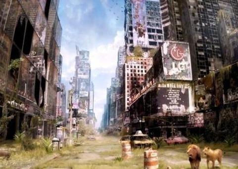 블라디미르 마뉴인의 '세계 종말 후의 모습'